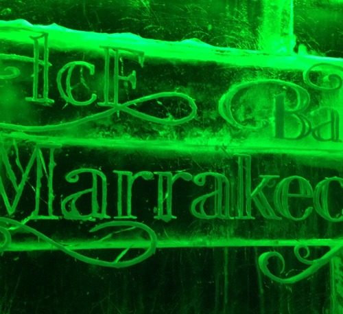 Ice Bar Marrakech